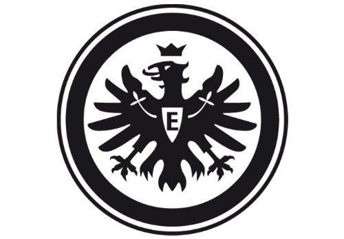 Wandtattoo Eintracht Frankfurt Logo Schwarz 38 Cm Durchmesser Kl