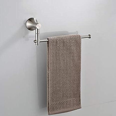 Amazon.com: Vadoly - Soporte de pared para toallero de baño ...