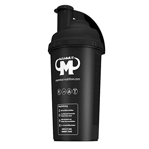 Mammut Eiweißshaker-Proteinshaker-Shaker-700 ml, 1er Pack