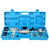 8milelake 9 Way Slide Hammer Axle Bearing Dent Hub Gear Puller Set