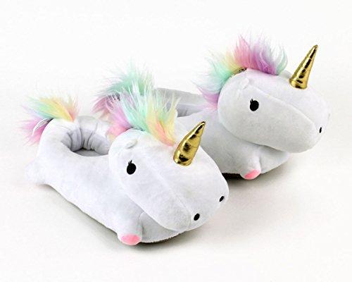 Smoko Unicorn Light Up Slippers by Smoko