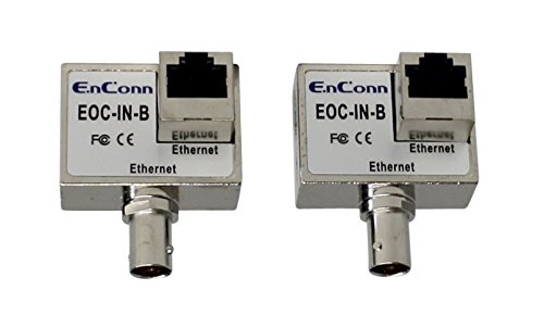 (Kenuco Passive Ethernet over Coax with BNC Connector (EOC-IN-B))