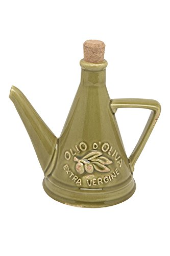 VIRGINIA CASA Conical - 45cl Cruet Verde Ceramic