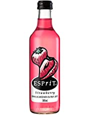 Esprit Strawberry Sparkling Water with 5% Fruit Juice, 24 x 300ml