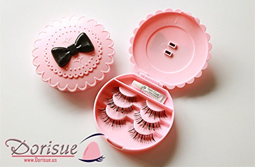 Dorisue False Eyelash Case Glue box Lashes container Makeup Holder receptacle Storage