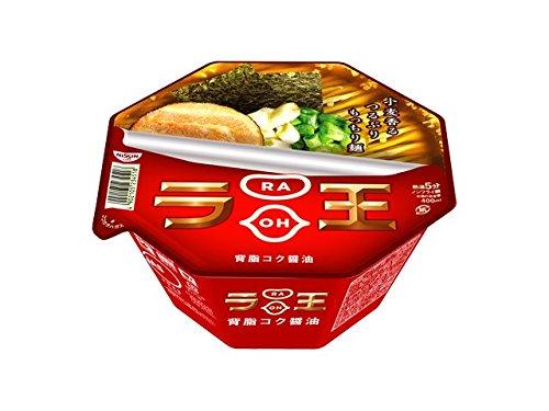 (Nissin - Raoh, Japanese Instant Noodles, Soy Sauce Soup, 4.3oz X 6bowls (For 6 servings)[japan Import])