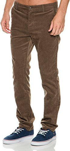 Chocolate Corduroy Pants - 7