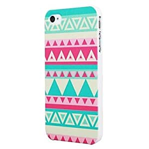 SOL Highsound Triangle Striped Beauty Design Hard Back Shell Case Cover for iPhone5/5S