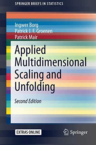 Read Applied Multidimensional Scaling and Unfolding (SpringerBriefs in Statistics)<br />W.O.R.D