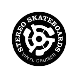 Stereo Skateboards Keep A Breast Vinyl Cruiser Plastic Complete Skateboard