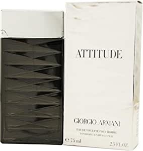 Armani Attitude By Giorgio Armani For Men, Eau De Toilette Spray, 1.7-Ounce Bottle