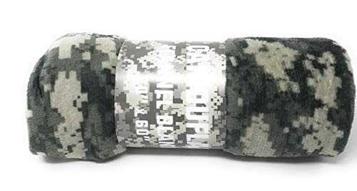 Goza Flannel Fleece Throw Blanket - Camouflage (50