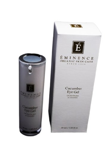 Eminence Organic Skincare Cucumber Eye Gel, 1.05 Fluid Ounce