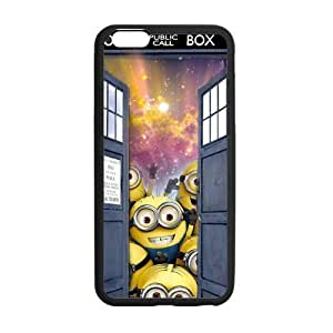 Colorful Cute Despicable Me Hot Tardis DOCTOR WHO Custom Case Cover for iPhone6 Plus 5.5 Laser Technology CMF143
