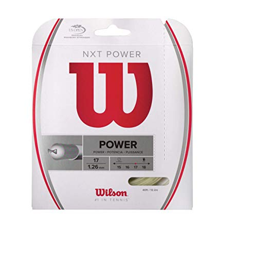 Wilson NXT Power 40-Feet String, Natural, 17