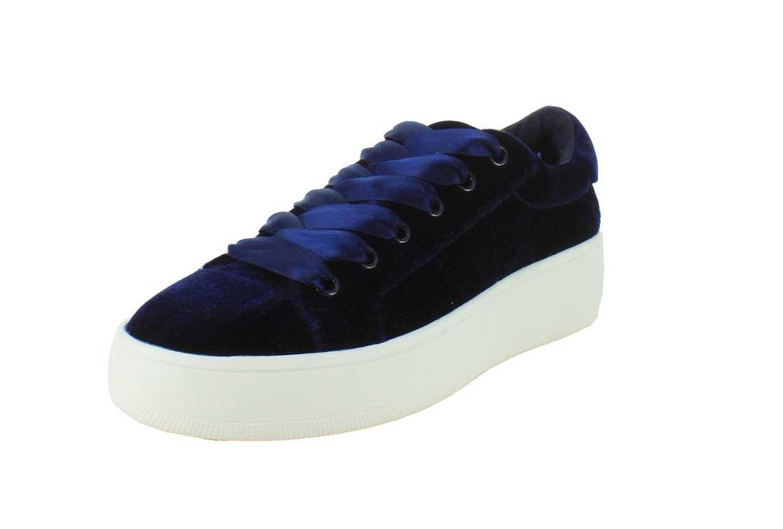 Steve Madden Womens Bertie Suede Fashion Sneaker B01MDKQ7IN 7 B US Womens|Blue/velvet Blue/velvet 7 B US Womens
