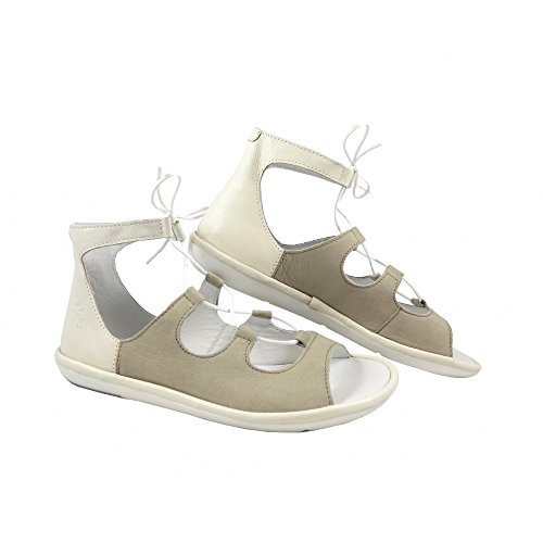 Fly London Womens Mura859fly Sandal Cloud / Off Bianco Cupido / Mousse