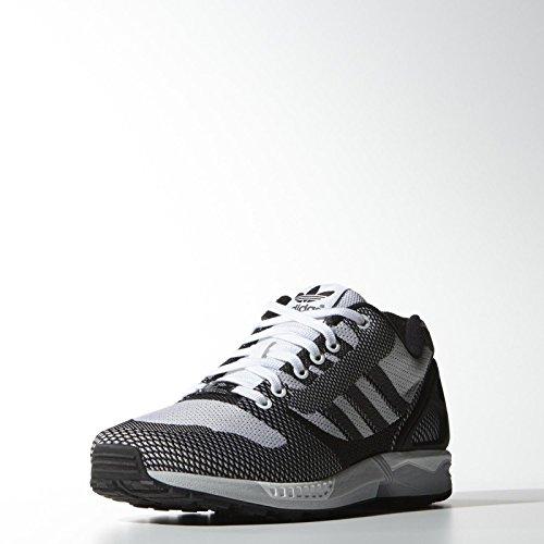 5f9104e99 Galleon - Adidas Originals ZX Flux Weave Torsion B34897 White Black Onix  Men s Shoes (size 10)