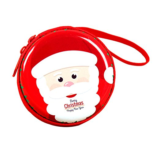 DONEE Coin Purse Portable Waterproof Cute Purse Pouch Bag as a gift, Zipper Enclosure and Durable Exterior, Lightweight Universal Carrying case for Coins, Cash, Headset, USB Charger, Cable, Keys ect.