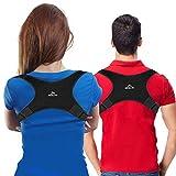 [New] Posture Corrector for Women Men | FDA Approved | Effective Comfortable Adjustable Posture Correct Brace - Posture Support - Back Brace - Kyphosis Brace (Universal)
