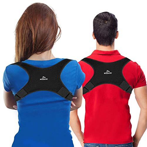 [New] Posture Corrector for Women Men | FDA Approved | Effective Comfortable Adjustable Posture Correct Brace - Posture Support - Back Brace - Kyphosis Brace (Universal)