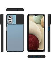 For Xiaomi Poco F3 / K40 / K40 Pro Case Silicone With Slide Camera Protector - Clear Black