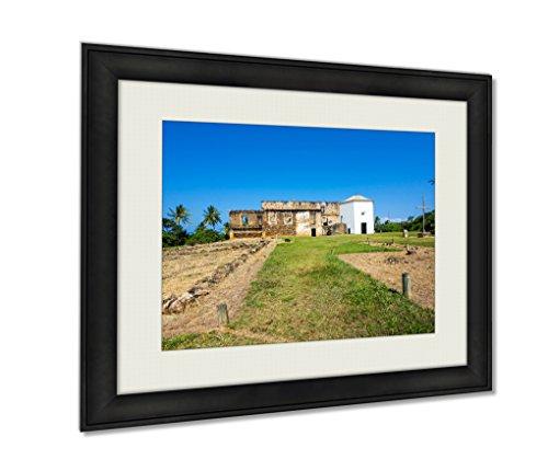 ashley-framed-prints-view-of-garcia-davila-castle-in-praia-do-forte-bahia-brazil-black-20x25-art