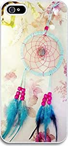 Ultra Slim for iPhone 5 Blue Feather Dreamcatcher hongguo's case
