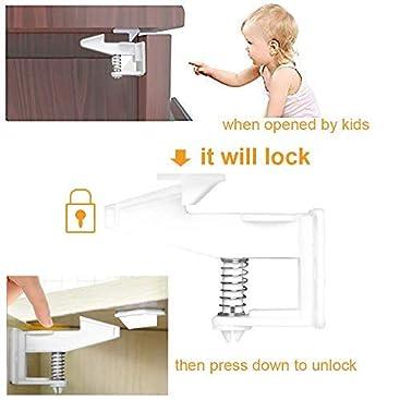 Cierres de seguridad para niños, diseño invisible y sin ...