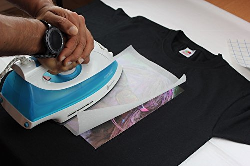 PPD Inkjet Iron-On Dark T Shirt Transfers Paper 11x17 Pack of 50 Sheets PPD107-50