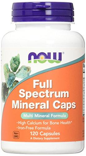 NOW Full Spectrum Minerals, 120 Capsules (Pack of 2)