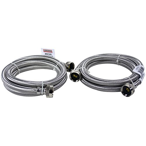 Certified Appliance Accessories Braided Stainless Steel Washing Machine Hoses, 6ft by Certified Appliance Accessories (Image #11)