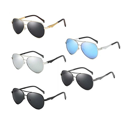 la Coolsir Providethebest Bloqueador Lentes de Gafas de Sol de UV Lente de polarizada de Las Solar Gafas Gafas Vendimia 4 Conducción Sol Protección piloto 7dqAwrd