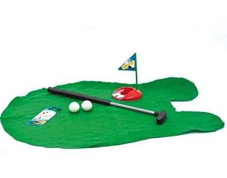 Cartello Da Appendere In Bagno : Kit per giocare a golf in bagno: amazon.it: casa e cucina