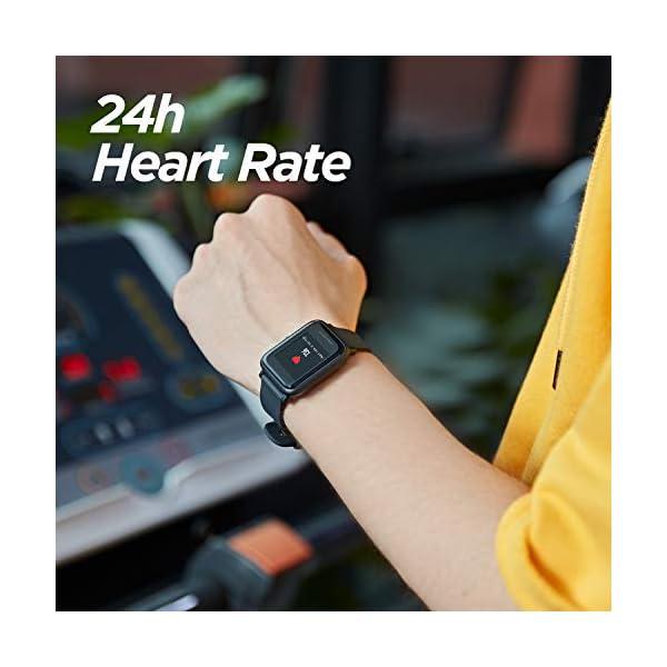 413uuaEPEsL Amazfit Bip Lite Smart Watch (Black)