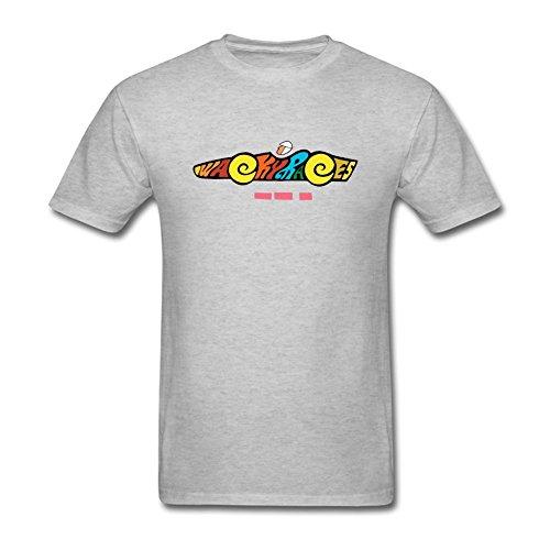 JuDian Wacky Races Cartoon Logo T Shirt For Men