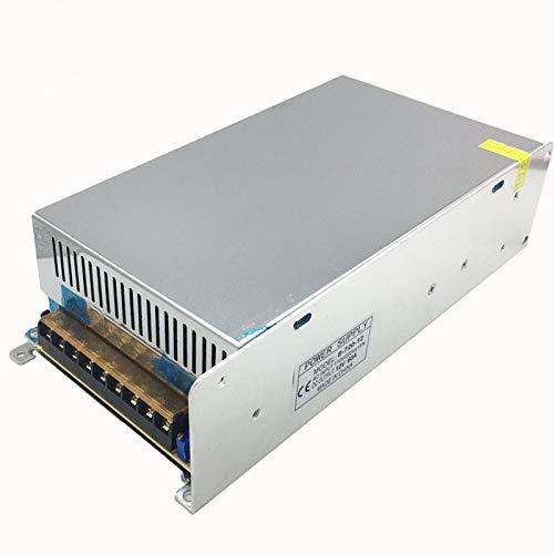 Power: DC12V 50A 600W, Input Voltage: 100-240V Utini DC5V 12V 24V 1.25A-60A 40W 60W 120W 180W 200W 250W 300W 360W 480W 600W 720W Switching Power Supply LightingTransformer AC DC