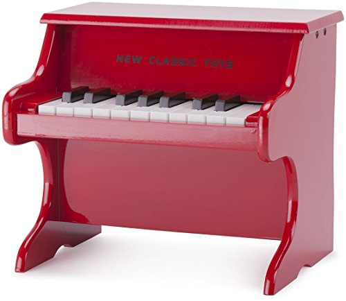 New Classic Toys 18-Tone Piano, Red