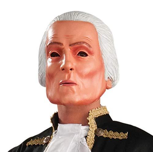 Forum Novelties Latex George Washington Mask - Adult Std.