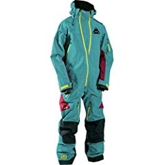 Whether you're tearing up the mountain on your snowboard or your snowmobile, you're gonna want the Tobe Vivid Mono Suit in your corner. This rugged one-piece snowsuit features 45,000mm of waterproof protection from head to toe, keeping you dr...