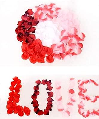 1000Pcs Simulado P/étalos de Rosa Para Boda Sala de Boda Decorativos Color Rosa