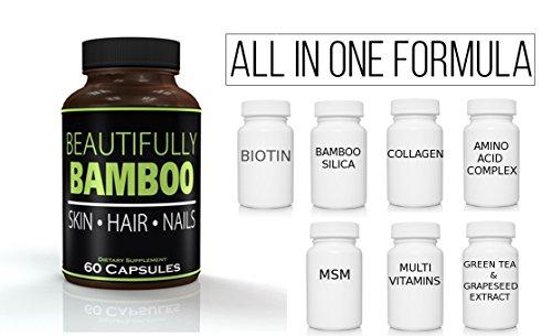 Beautifully Bamboo Ultra Vitamin for Skin, Hair, and Nail ...