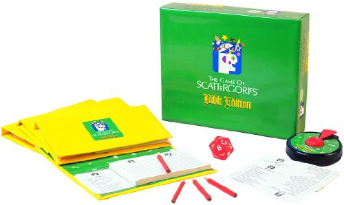 Scattergories-Catholic Edition (Bible Game Scattergories Edition)