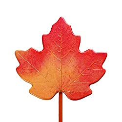 Wireless Charger,pollyhb 2 in 1 Novel Maple Leaf Shape Wireless Charger + Magnetic Stand Car Mobile Phone Fast Charge