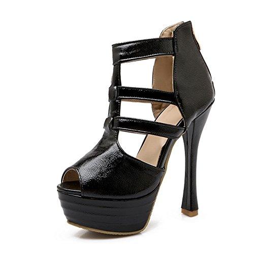 pour pour 1TO9 femme femme 1TO9 Noir Sandales Noir Sandales xRSnwOnqT