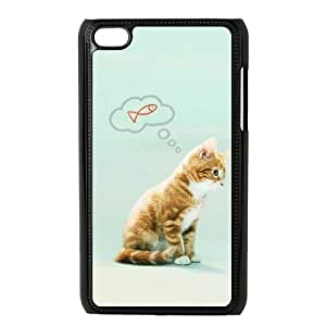 lovely cat Discount Cover Case for iPod Touch 4, Discount lovely cat Cell Phone Case