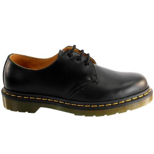 Mens Dr Martens 1461 Classic Vintage Retro Lederen Schoenen Met Veters 8-13 Zwart