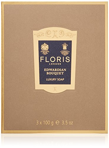 Floris London Edwardian Bouquet Luxury Soap, 3.4 oz