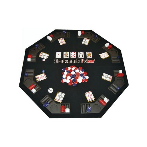 Trademark Poker Texas Traveller Table Top & Chip Travel Set by Trademark Poker