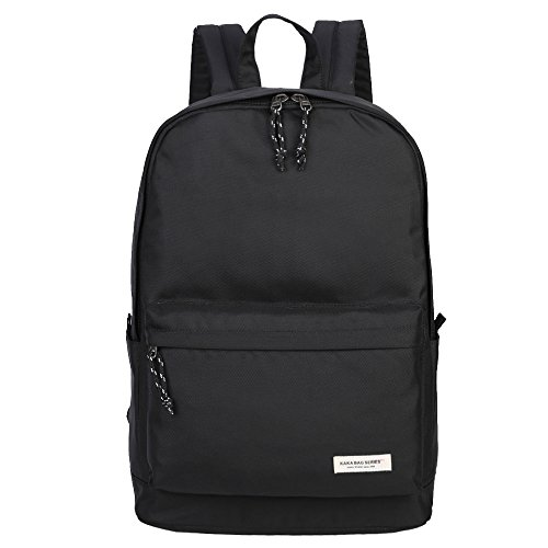 Amazon.com: KAKA Waterproof Backpack Laptop Backpack Black Large ...